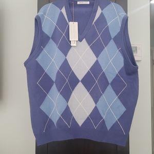 Men's cashmere sweater vest